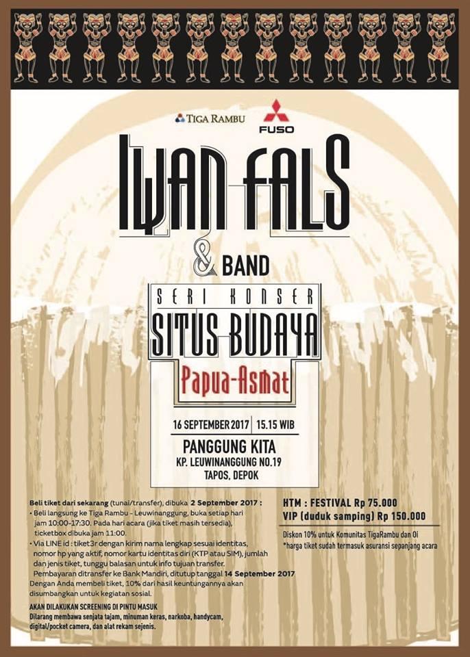 Konser Situs Budaya Papua-Asmat