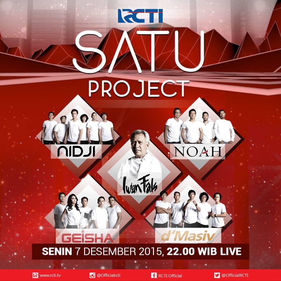Konser Launching Album SATU