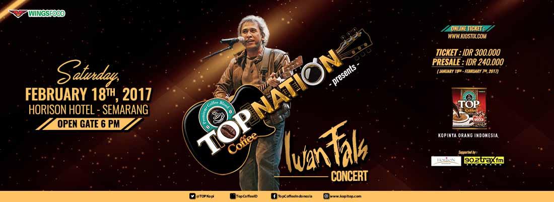 Top Nation Konser Iwan Fals  & Band di Semarang