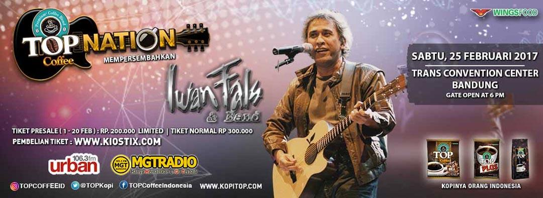 Top Nation Konser Iwan Fals  & Band di Bandung