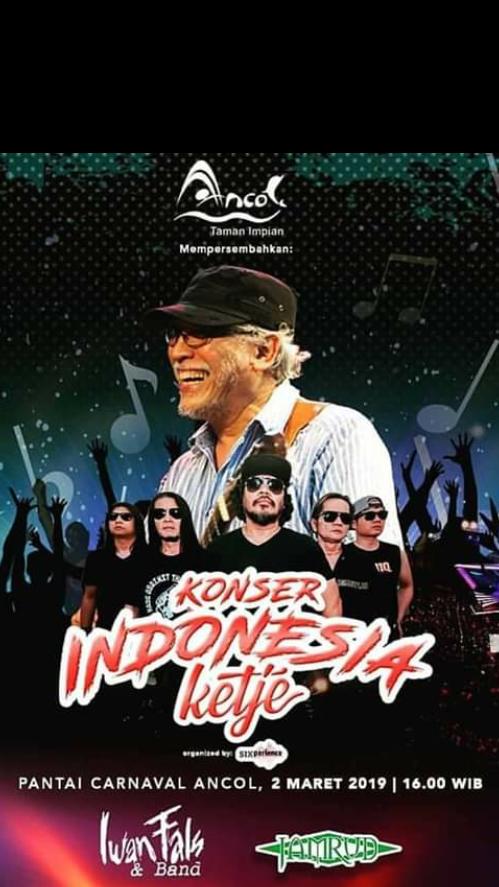 Konser Indonesia Ketje Iwan Fals